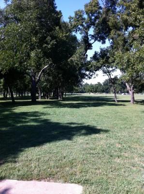 Haikey Creek Park, Main course, Hole 12 Tee pad