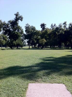 Haikey Creek Park, Main course, Hole 13 Tee pad