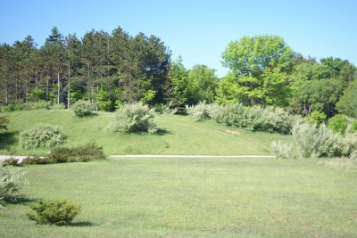 Mason County Park, Beast, Hole 5 Tee pad