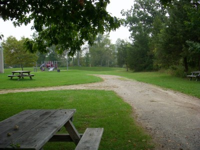 Independence Lake County Park, Picnic Course, Hole 9 Midrange approach
