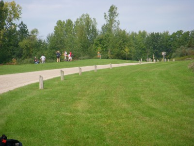 Independence Lake County Park, Picnic Course, Hole 12 Tee pad