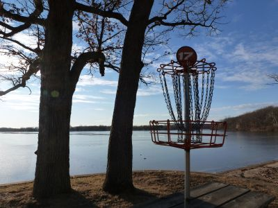 Independence Lake County Park, Picnic Course, Hole 17