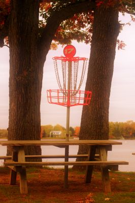 Independence Lake County Park, Picnic Course, Hole 17 Putt