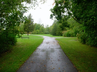 Independence Lake County Park, Picnic Course, Hole 2 Tee pad