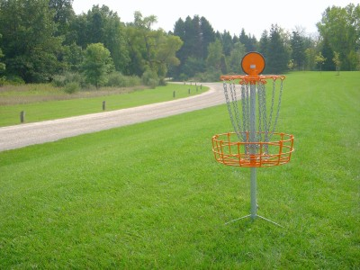 Independence Lake County Park, Picnic Course, Hole 12 Reverse (back up the fairway)