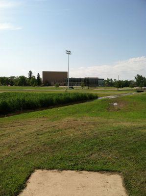 South Dakota State University, Main course, Hole 8 Tee pad