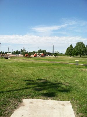 South Dakota State University, Main course, Hole 9 Tee pad