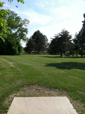 South Dakota State University, Main course, Hole 6 Tee pad