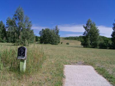 Mason County Park, Goliath, Hole 7 Tee pad