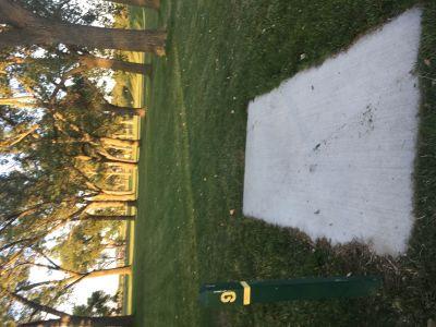 Huron Municipal Park, Main course, Hole 9 Tee pad