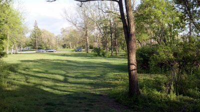 Chippewa Banks, Main course, Hole 5 Tee pad