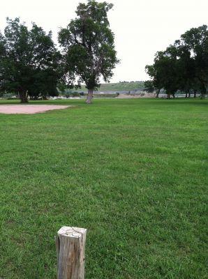 Randall Creek, Main course, Hole 5 Tee pad