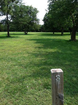 Randall Creek, Main course, Hole 3 Tee pad