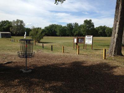 Jackson Park, Main course, Hole 1 Alternate pin