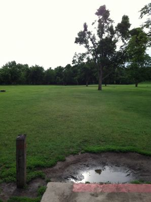 Tuthill Park, Main course, Hole 12 Tee pad
