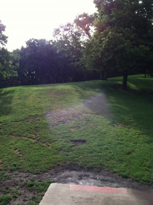Tuthill Park, Main course, Hole 16 Tee pad