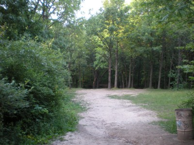 Kensington Metropark, Original course, Hole 11 Short tee pad