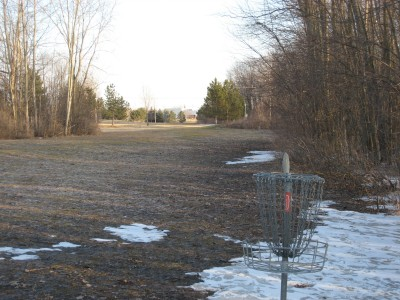 Central Michigan University, Main course, Hole 5 Reverse (back up the fairway)