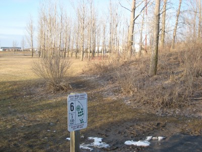 Central Michigan University, Main course, Hole 6 Tee pad