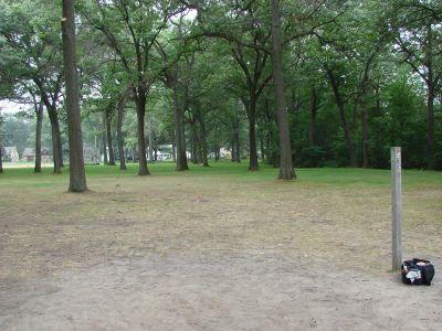 McGraft Park, Main course, Hole 15 Tee pad