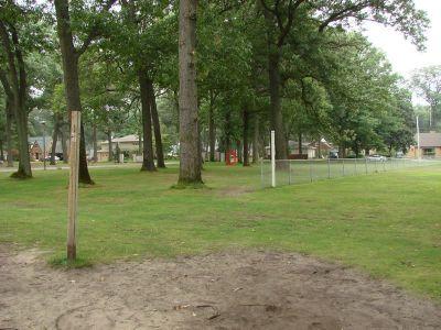 McGraft Park, Main course, Hole 1 Tee pad