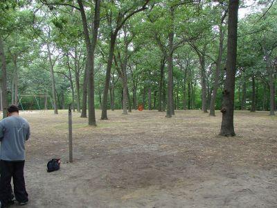 McGraft Park, Main course, Hole 13 Tee pad