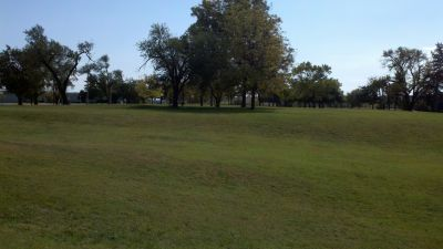 Riley's Conference Center, Main course, Hole 18 Tee pad