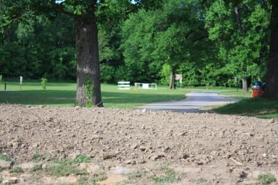 Gunn Park, Main course, Hole 10 Tee pad