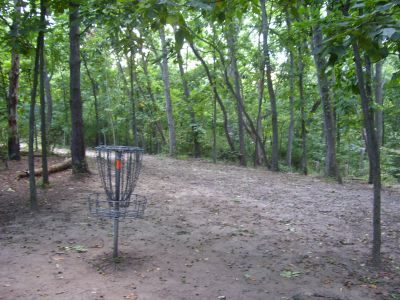 Madeline Bertrand County Park, Main course, Hole 5 Reverse (back up the fairway)