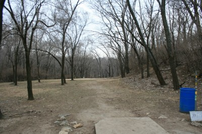 Rosedale Park, Top course, Hole 12 Tee pad