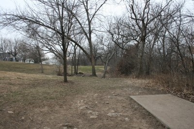 Rosedale Park, Top course, Hole 15 Tee pad