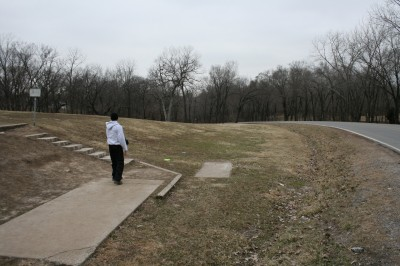 Rosedale Park, Top course, Hole 14 Tee pad