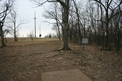 Rosedale Park, Top course, Hole 10 Tee pad