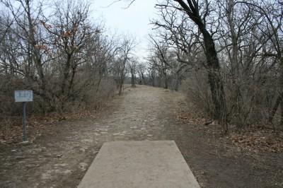 Rosedale Park, Top course, Hole 8 Tee pad