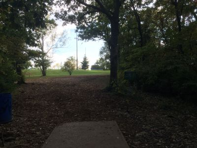 Rosedale Park, Top course, Hole 6 Tee pad