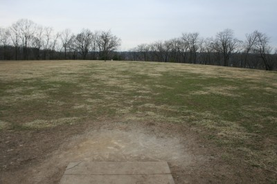Rosedale Park, Top course, Hole 11 Tee pad