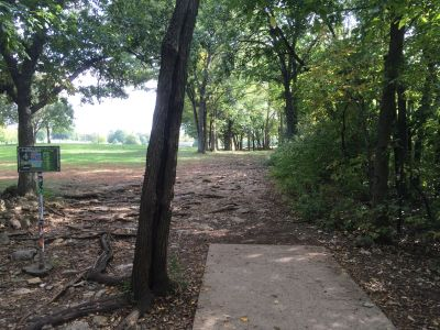Rosedale Park, Top course, Hole 4 Tee pad