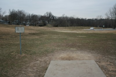 Rosedale Park, Top course, Hole 13 Tee pad