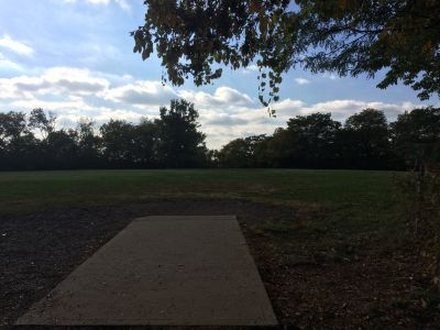 Rosedale Park, Top course, Hole 7 Tee pad