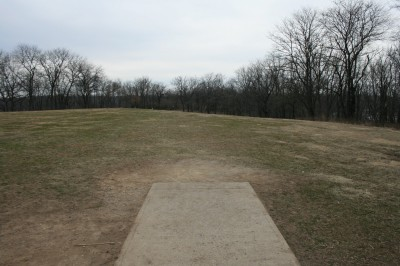 Rosedale Park, Top course, Hole 2 Tee pad