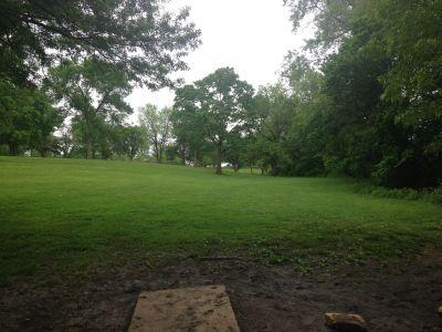 Centennial Park, Main course, Hole 2 Tee pad