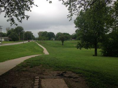 Centennial Park, Main course, Hole 17 Tee pad