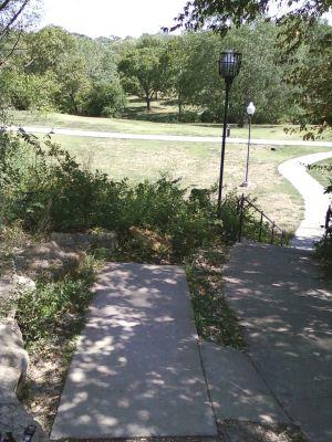 Centennial Park, Main course, Hole 13 Tee pad
