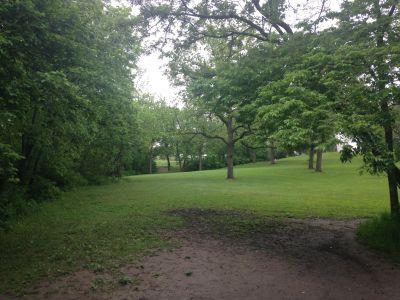 Centennial Park, Main course, Hole 4 Tee pad