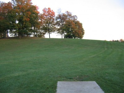 Cass Benton Hills, Main course, Hole 16 Short tee pad