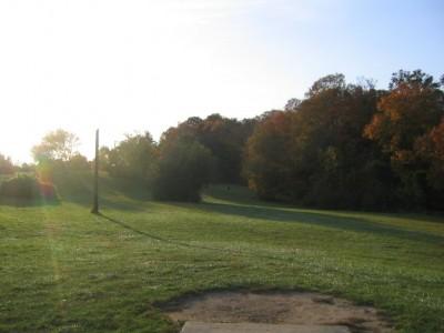 Cass Benton Hills, Main course, Hole 8 Short tee pad