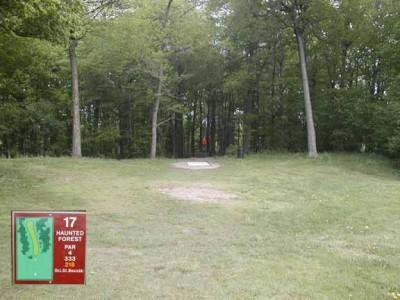 Cass Benton Hills, Main course, Hole 17 Long tee pad