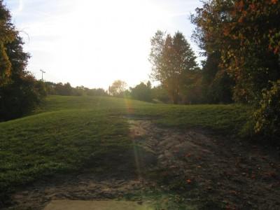 Cass Benton Hills, Main course, Hole 8 Long tee pad