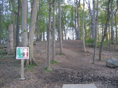 Cass Benton Hills, Main course, Hole 14 Long tee pad