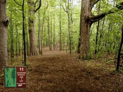 Cass Benton Hills, Main course, Hole 11 Tee pad